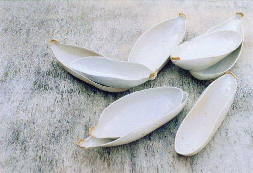 Peultjes, porcelein, zoutglazuur