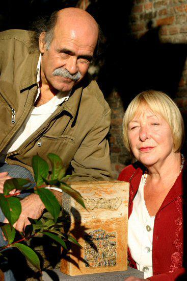 Qassim Alsaedy and Brigitte Reuter