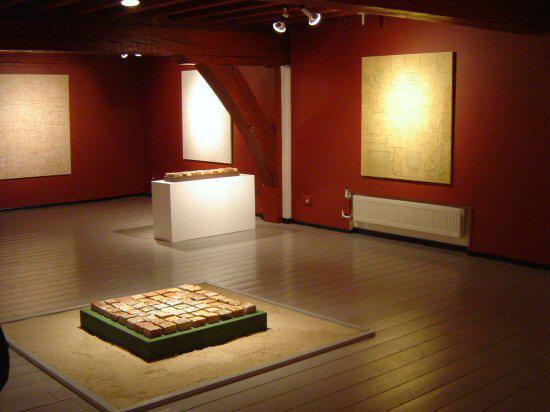Ceramic Field in Museum Flehite, Amersfoort