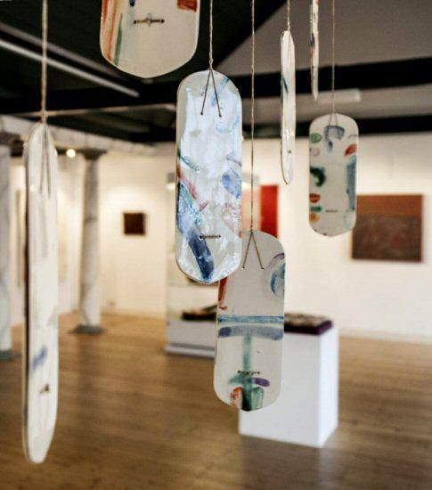 'Droomflaarden', porselein, Stedelijk Museum Vianen